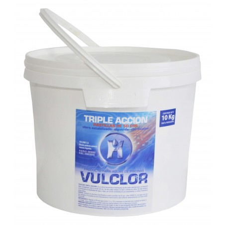 Vulclor Triple Accion 50 Grs X 10kgs