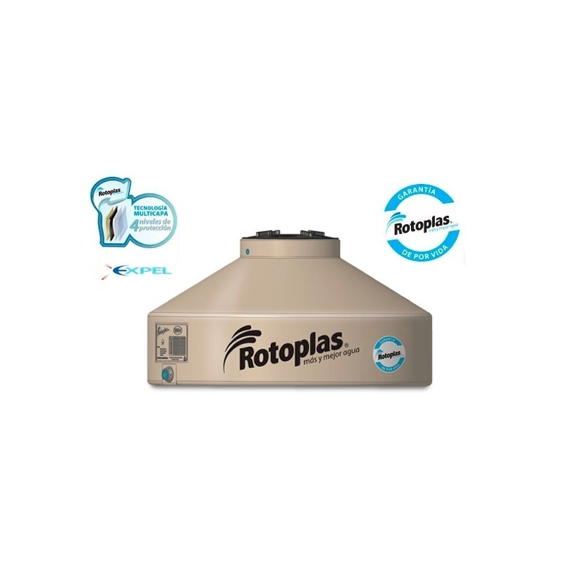 Tanque Rotoplas Flat Multicapa 1000 Lts